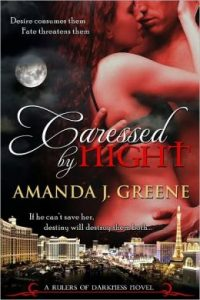 Review Caressed by Night by Amanda J. Greene