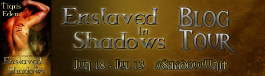 Interview and Giveaway: Tigris Eden, Author of Enslaved in Shadows