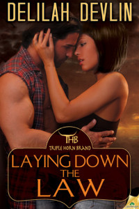 Review Laying Down the Law by Delilah Devlin