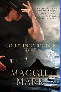 Review Courting Trouble by Maggie Marr
