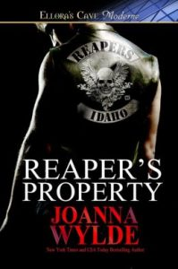 Review Reaper's Property by Joanna Wylde