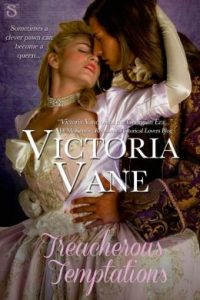 Treacherous Temptation by Victoria Vane