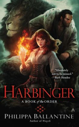 Cover Reveal: Harbinger by Philippa (Pip) Ballantine