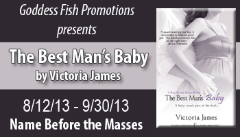Book Tour: The Best Man's Baby by Victoria James