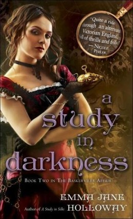 Review A Study in Darkness by Emma Jane Holloway