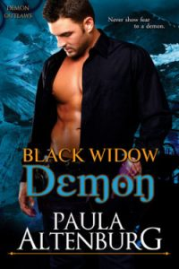 Review Black Widow Demon by Paula Altenburg
