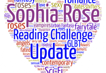 Sophia's Reading Challenge Update for April