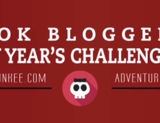Book Blogger New Year's Challenge – Day 1