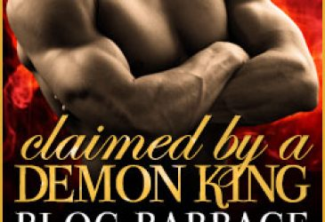 Claimed by the Demon King by Felicity Heaton Blog Barrage #Giveaway