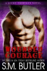 Review Wounded Courage by S.M. Butler