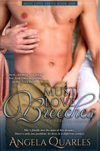 Review Must Love Breeches by Angela Quarles