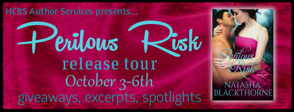 Spotlight! Perilous Risk (Regency Risks #3) by Natasha Blackthorne