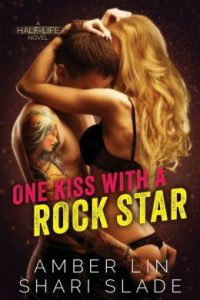 Review One Kiss with a Rock Star by Amber Lin & Shari Slade
