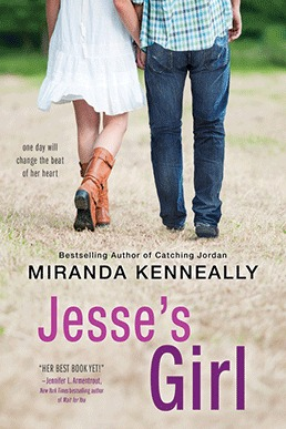 Jesse's Girl by Miranda Kenneally #YARomance #Review #YoursAffectionately