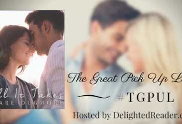 #TGPUL with Clare Dugmore – All It Takes #Giveaway