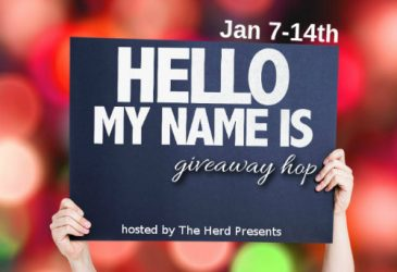Hello My Name Is #Giveaway Hop !