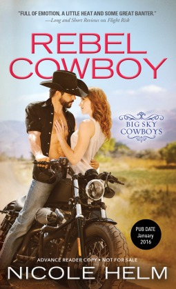 Rebel Cowboy by Nicole Helm #Review