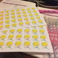 New Blogging Planner Stickers! #YakketyYak