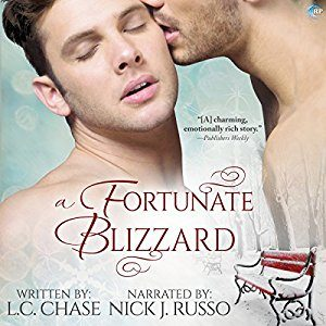 A Fortunate Blizzard by L.C. Chase, Narrated by Nick J. Russo #HolidayDelight #AudioReview