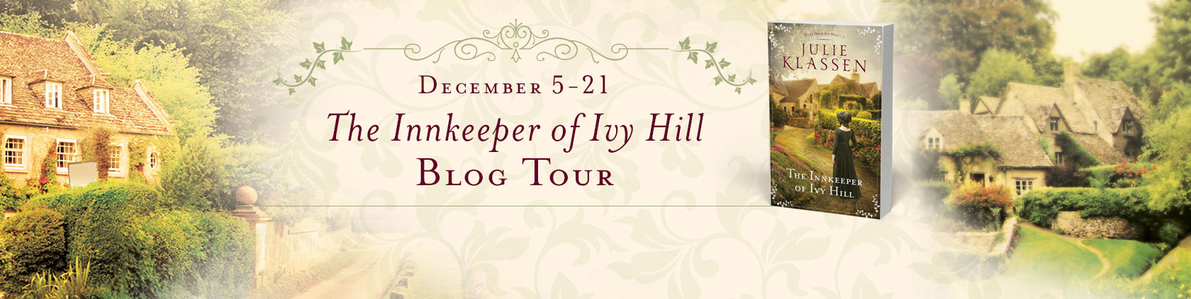 The Innkeeper of Ivy Hill by Julie Klassen #giveaway