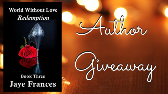 World Without Love series e-books to one Int'l winner