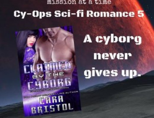 Claimed by the Cyborg by Cara Bristol #TGPUL #Giveaway
