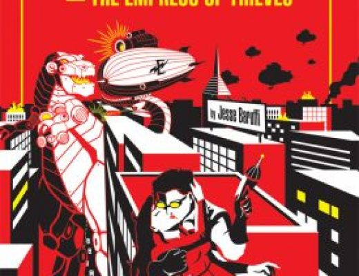 Otto Von Trapezoid and the Empress of Thieves by Jesse Baruffi #TGPUL #Giveaway