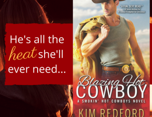 Blazing Hot Cowboy Blog Tour #Giveaway #Excerpt
