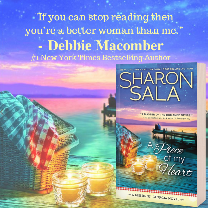 Review: A Piece of My Heart by Sharon Sala #Excerpt #Giveaway