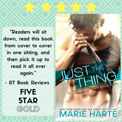 Spotlight: Just the Thing by Marie Harte #Excerpt #Giveaway