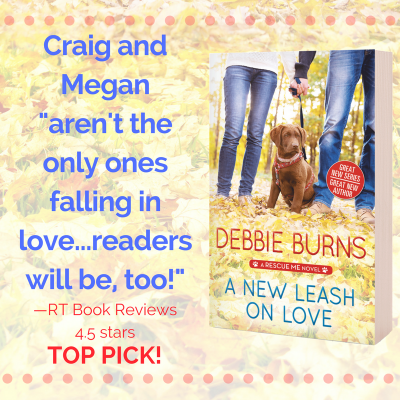 Spotlight: A New Leash on Love by Debbie Burns #Excerpt #Giveaway