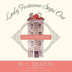Sweet Delight Review: Lady Fortescue Steps Out by M.C. Beaton