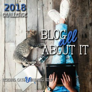 Blog All About It Challenge October 2018