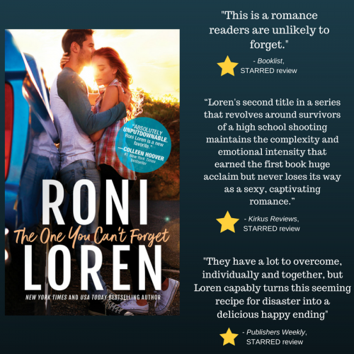 Excerpt & Giveaway: The One You Can't Forget by Roni Loren