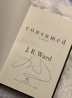 Signed copy of Consumed by J.R. Ward