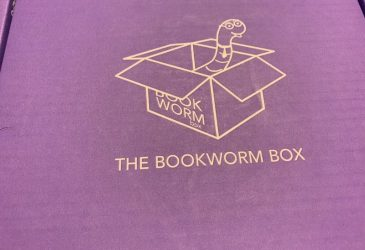 The Bookworm Box Reveal – June 2019 (2 book box)