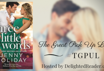 Three Little Words by Jenny Holiday #TGPUL2019 #Giveaway