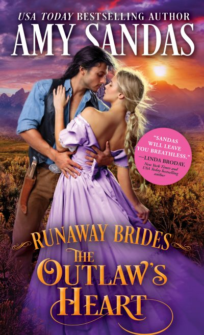 Review: The Outlaw's Heart by Amy Sandas