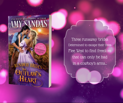 Spotlight, Excerpt and Giveaway: The Outlaw's Heart by Amy Sandas