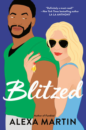 I Dare You Fall Sports Spotlight on Blitzed by Alexa Martin #Giveaway