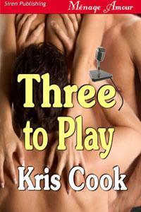 Review Three to Play by Kris Cook