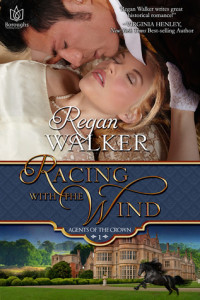 Review Racing With the Wind by Regan Walker