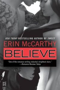 Review Believe by Erin McCarthy