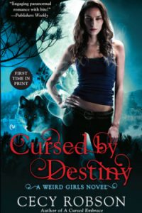 Review Cursed By Destiny by Cecy Robson