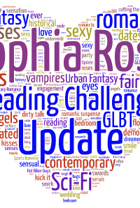 Sophia Rose Reading Challenge Update