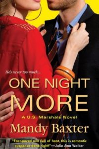Review One Night More by Mandy Baxter