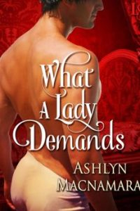 Review What a Lady Demands by Ashlyn MacNamara