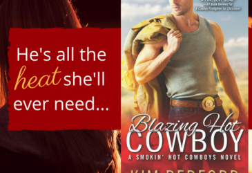 Spotlight: Blazing Hot Cowboy by Kim Redford