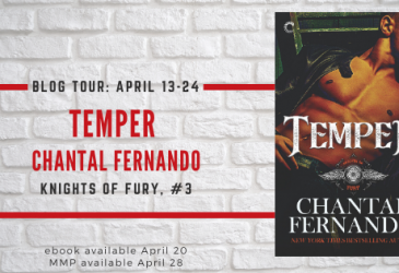 Spotlight Excerpt: Temper by Chantal Fernando