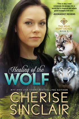 Review: Healing of the Wolf by Cherise Sinclair